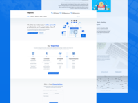 Objective1 - Landing page