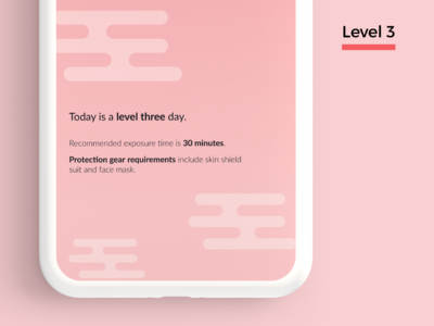 Day Rise Level 3 figmadesign figma climate change weather uidesign design