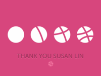 Thank you Susan Lin!