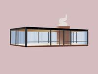 Philip Johnson—Glass House—Johnson House