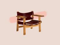 Børge Mogensen—Spanish Chair