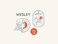 Wesley Badges