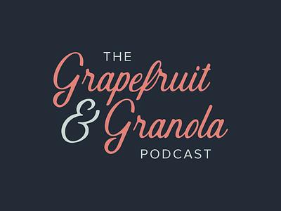 Granola serif typography logo identity branding