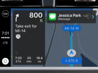 CarPlay Notifications while Navigating