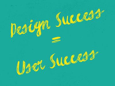 Design Success quote inspiration
