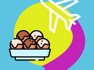 Weekly Warm-Up - Summer Icon japanese food food icon affinity designer illustraion japan summertime