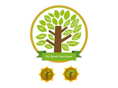 Landing logo & badges badge logo illustration graphic design