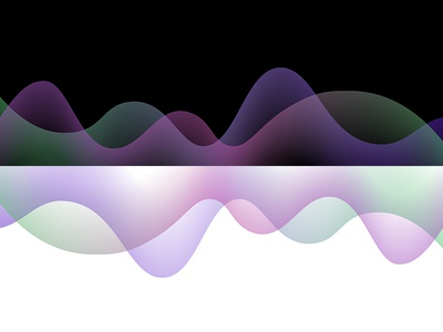 Gradient curve patterns with black & white background gradient color graphic design vector illustration