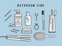 Possessions - Bathroom Sink