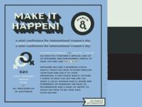 Make It Happen - Alternate Event Branding