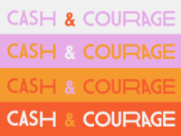 Cash And Courage Wordmark