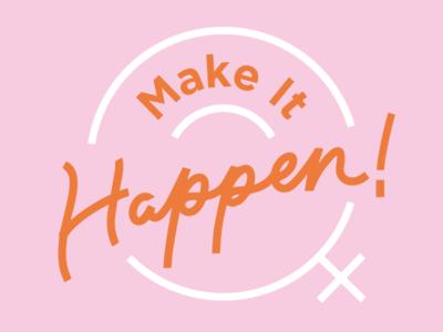 Event branding for Make It Happen!