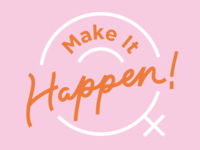 Event branding for Make It Happen!