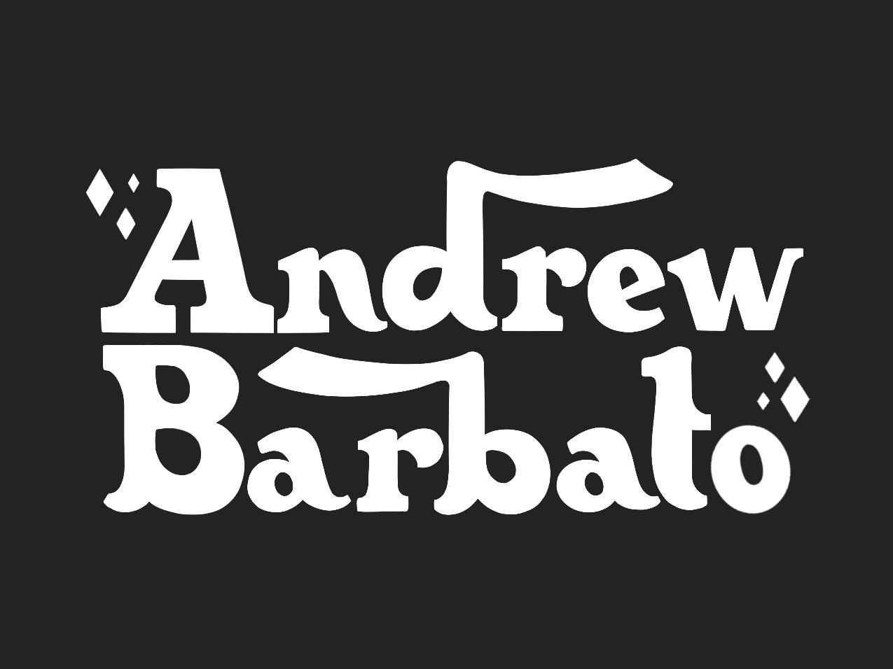 Hand Lettered Logo wip comedian adobe avant garde bold design retro lettering retro letter art lettered logo andrew letters lettering identity logo branding typography illustrator illustration design