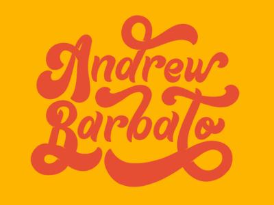 Hand Lettered Script Logo