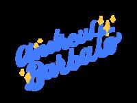 Alt Sparkle Script Logo