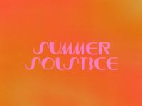 Summer Solstice '19