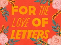 For The Love Postcard