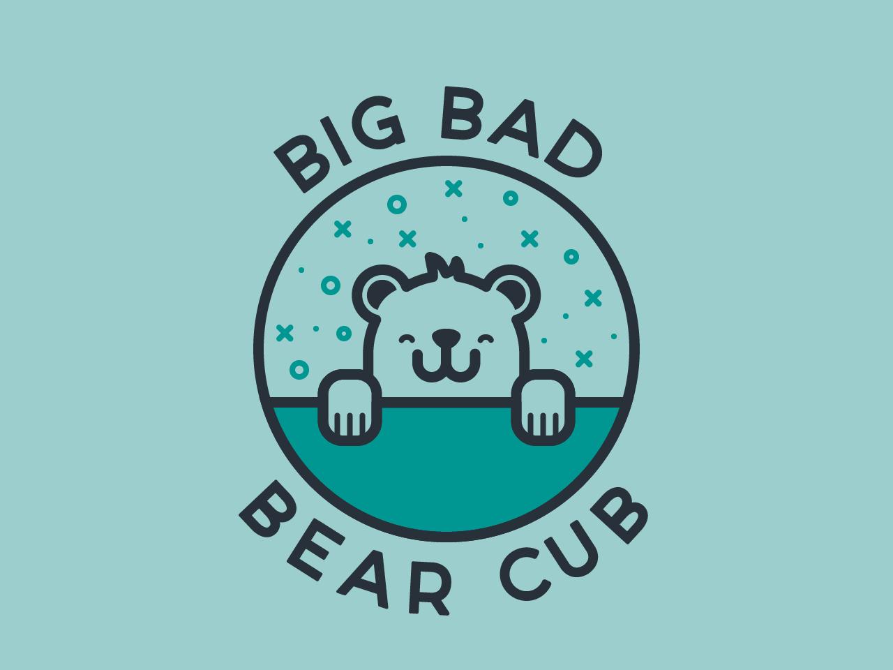 Twitch Streaming Avatar iconography streaming video game bear cub bear avatar screen twitch identity logo vector illustrator illustration design
