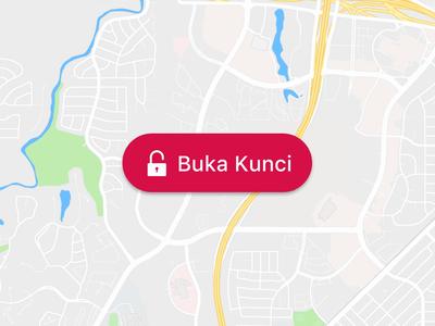 Introducing BukaBike: Buka Harimu, KayuhSemangatmu! map bike sharing bicycle interaction mobile app application flat minimal animation