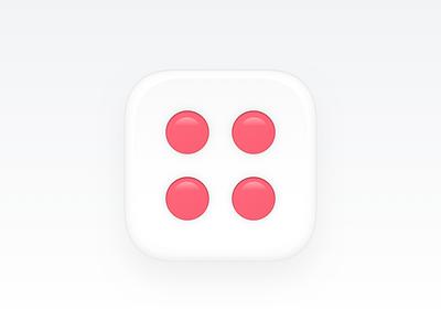 Dice Icon branding product design plugin dices dice sketch plugin realistic osx macos os mac icon app
