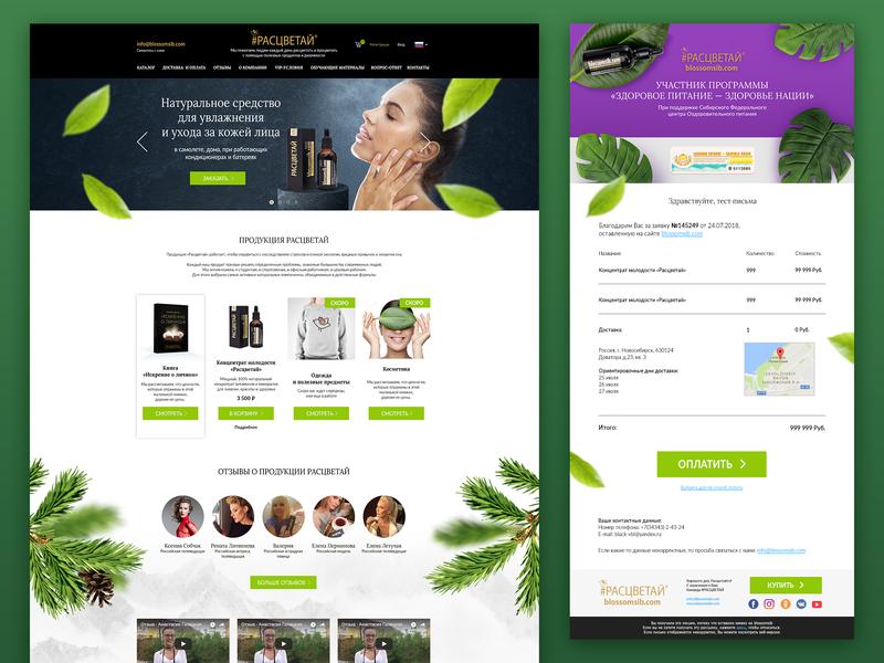 e-commerce website site beauty e-commerce website adobe photoshop cc