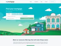 Mortgage web design
