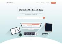 Search for paper web design