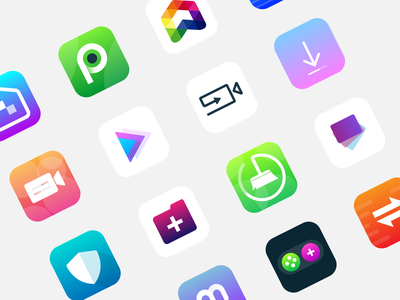Icon App Android clean flat design adobe illustrator logo colorful modern icon icon app android icon app