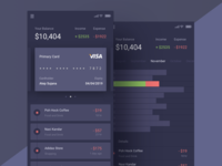 Just Another Boring Dark Finance App