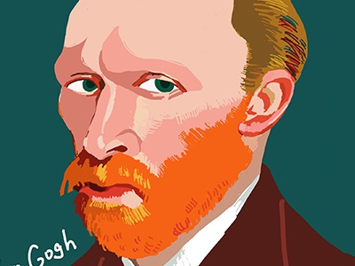 Van Gogh ipad illustration gogh van willem vincent