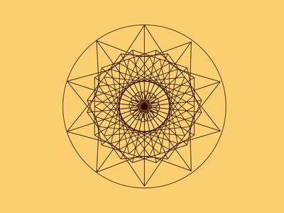 Geometric illustration bg