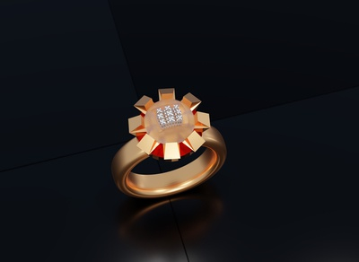 3D ring design