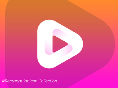 Icon Collection #1 rectangular rectangle illustrator vector logo ui design icon app icon illuatration