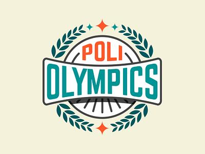 Poli Olympics logo design