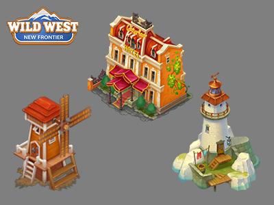 Wild West: New Frontier wild west: new frontier icon gamedev