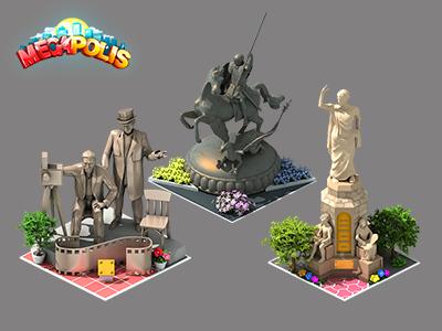 Megapolis megapolis icon gamedev