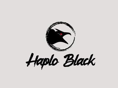 Haplo Black icon flat app logo branding cover website web vector lettering typography illustrator illustration facebook animation @typography @logo @fiverr @design design