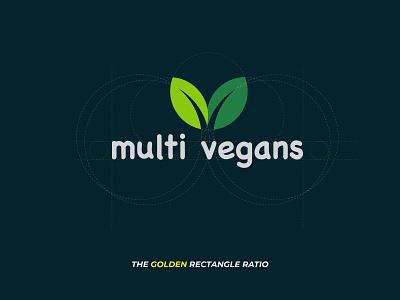 Multi Vegans Logo Design @fiverr branding logo design @design @logo