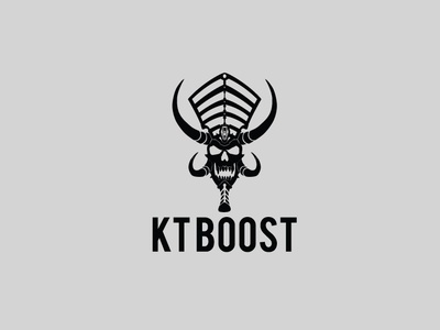 Ktboost logo design flat app logo cover branding website web vector lettering typography illustrator illustration facebook animation @typography @logo @fiverr @design design