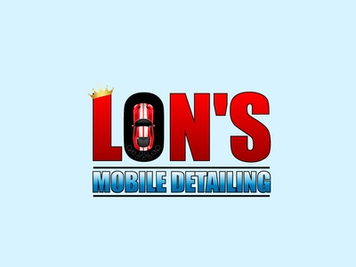 Lions Mobile Detailing icon flat app logo cover branding website web vector lettering typography illustrator illustration facebook animation @typography @logo @fiverr @design design