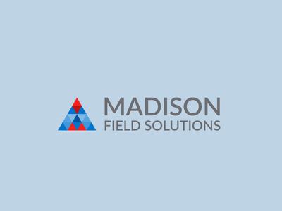 Madison Field Solutions icon flat app logo cover branding website web vector lettering typography illustrator illustration facebook animation @typography @logo @fiverr @design design