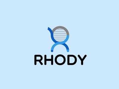 Rhody icon flat app logo cover branding website web vector lettering typography illustrator illustration facebook animation @typography @logo @fiverr @design design