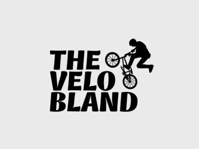 The Velo Bland icon flat app logo cover branding website web vector lettering typography illustrator illustration facebook animation @typography @logo @fiverr @design design