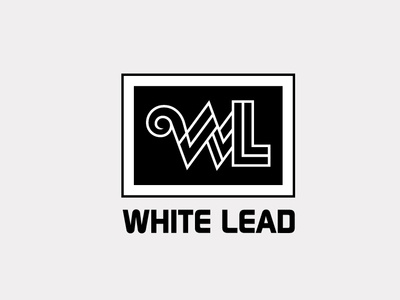 White Lead typography illustrator illustration facebook animation @typography @logo @fiverr @design design
