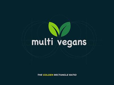 Multi Vegans Logo icon logo branding design illustrator vector @logo @design @fiverr upwork @vegans