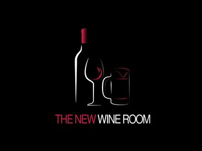 The New Wine Room branding icon logo vector illustration @design @logo @fiverr design