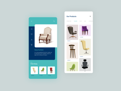 E-commerce Furniture App