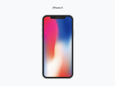 Free Pure CSS iPhone X - Devices.css devices pure css iphone x