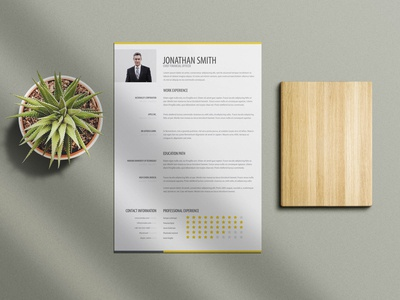 Free Trendy Resume Template